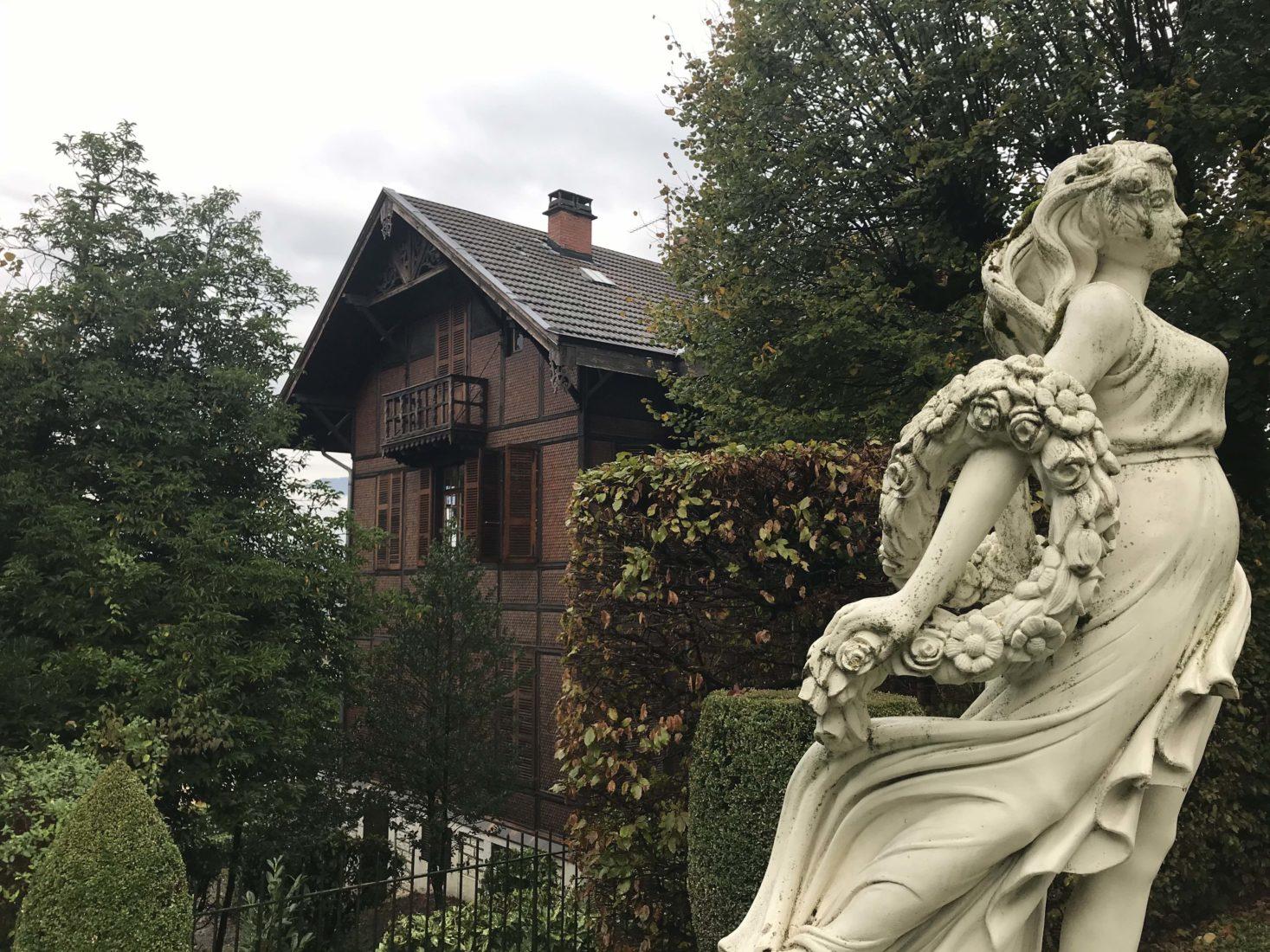 Aix-les-Bains, le Chalet Charcot