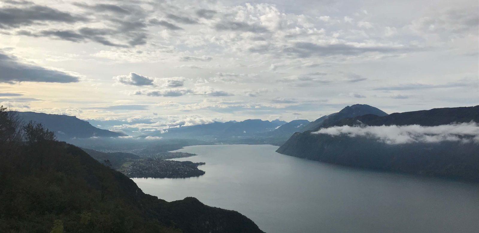 Le Lac du Bourget depuis La Chambotte