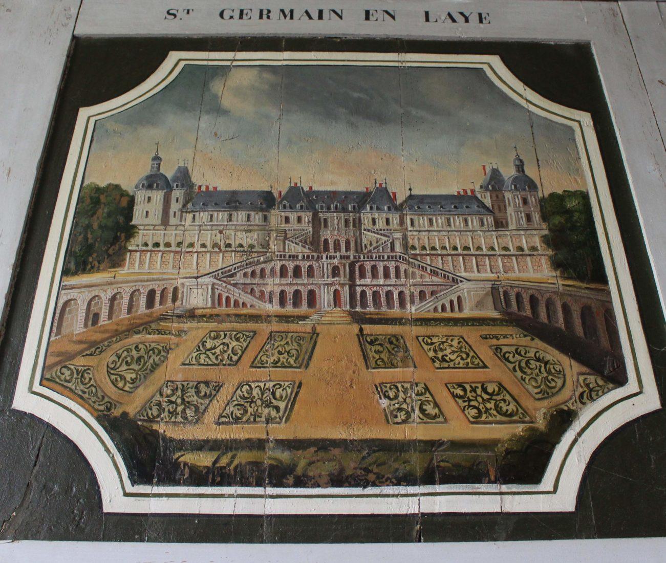 Bussy-Rabutin peinture St germain en Laye