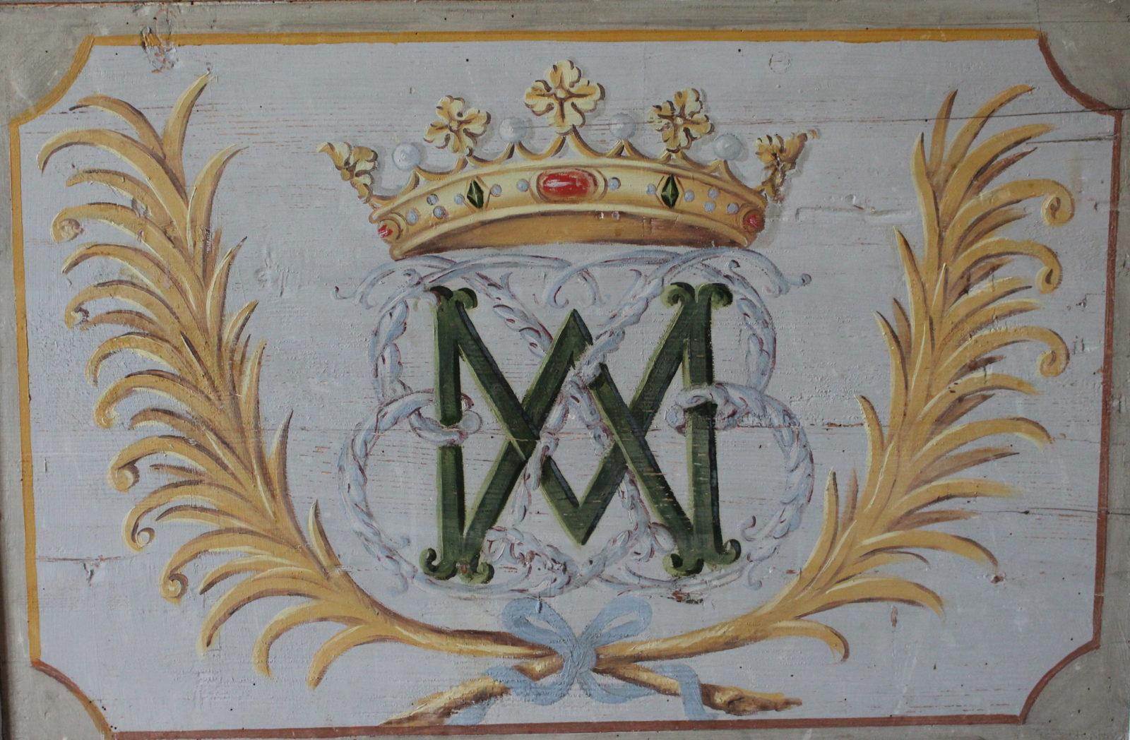 Monogramme du comte de Bussy-Rabutin