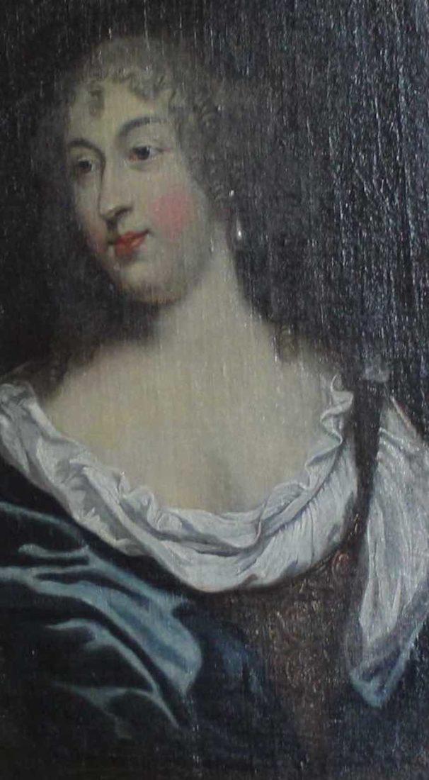 Bussy-Rabutin Portrait de la fille de Madame de Sévigné