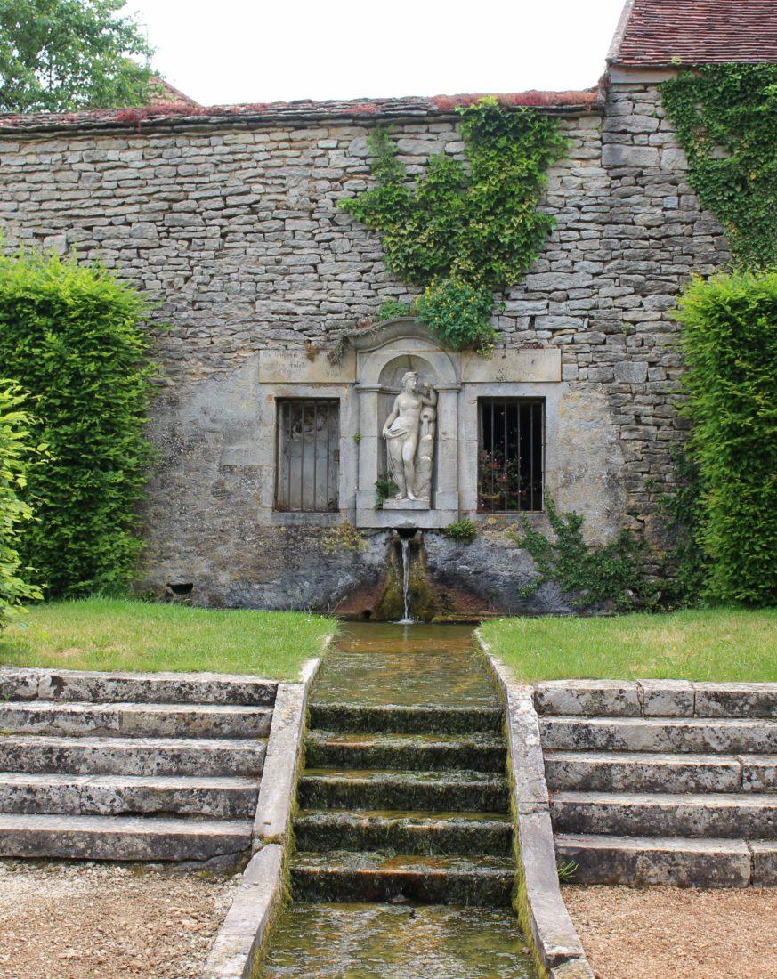 Jardin du Château de Bussy-Rabutin