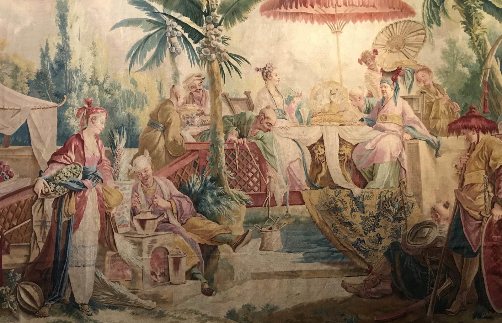 Manufacture royale de Beauvais, Le Repas.