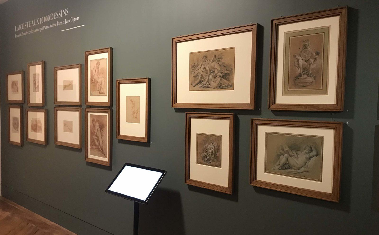 dessins de François Boucher