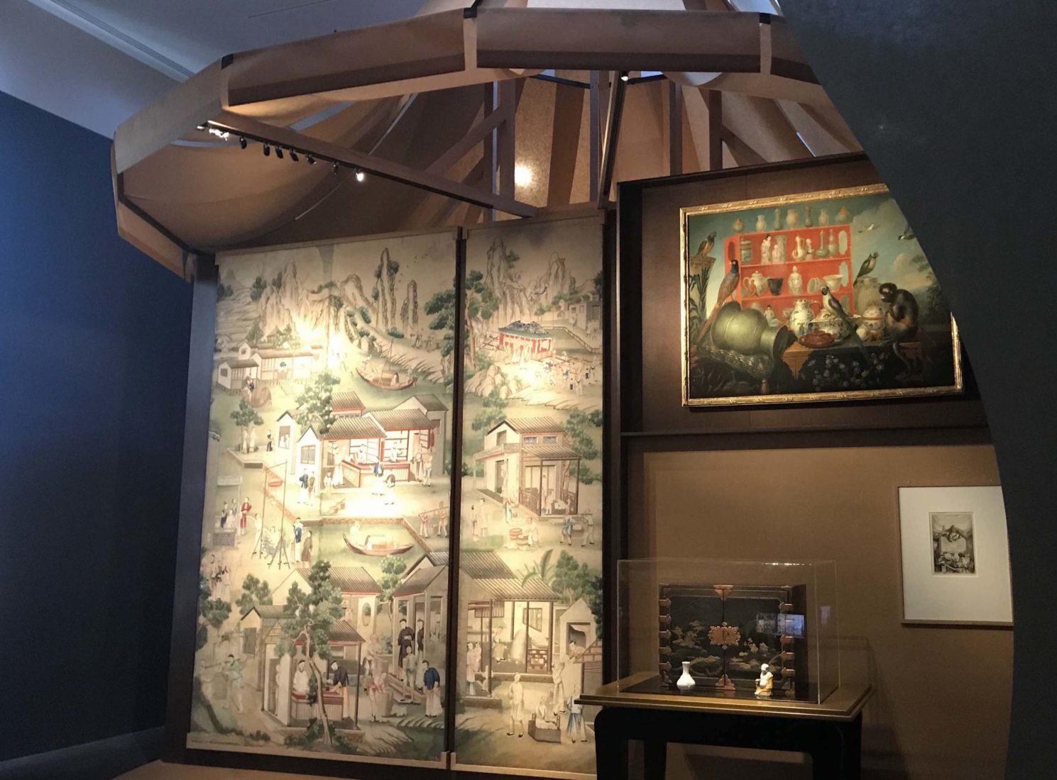 uite de six panneaux à décor chinois Paris