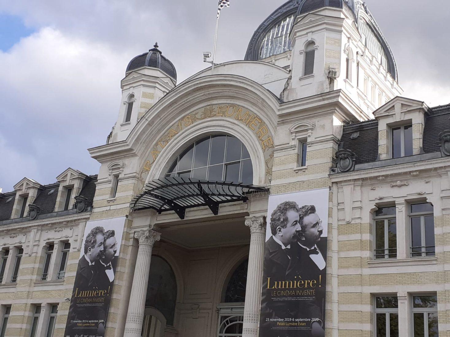 Evian Palais Lumière exposition Lumière