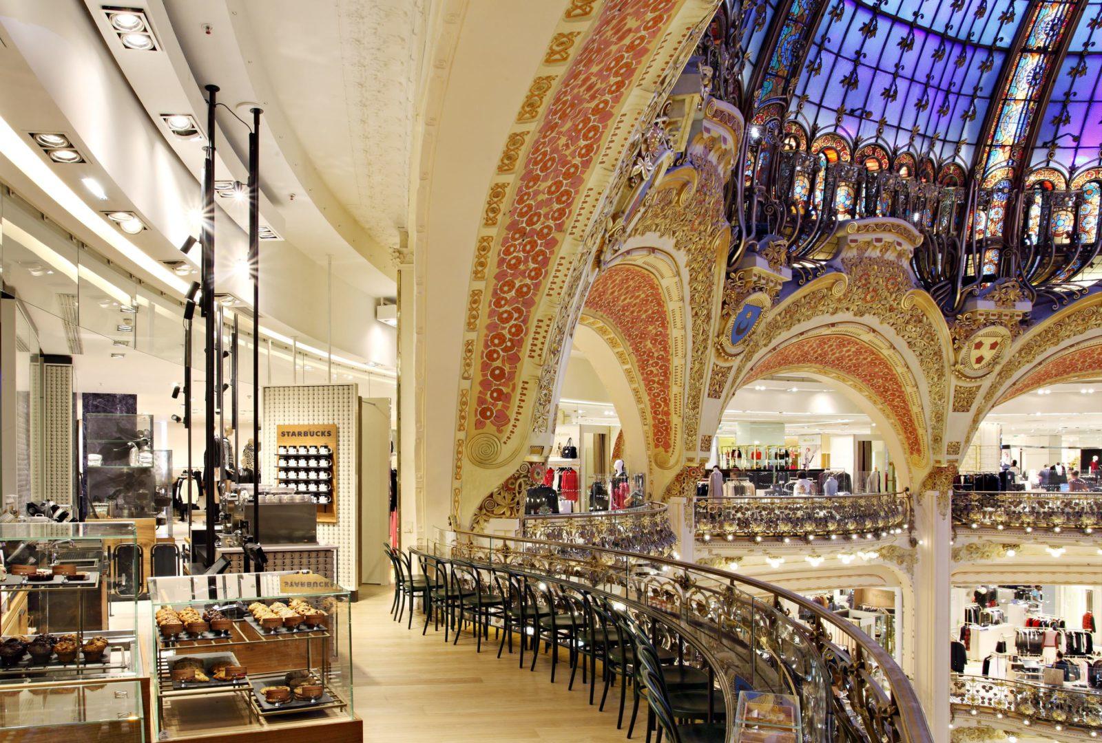 Galeries Lafayette Paris Haussmann -étage