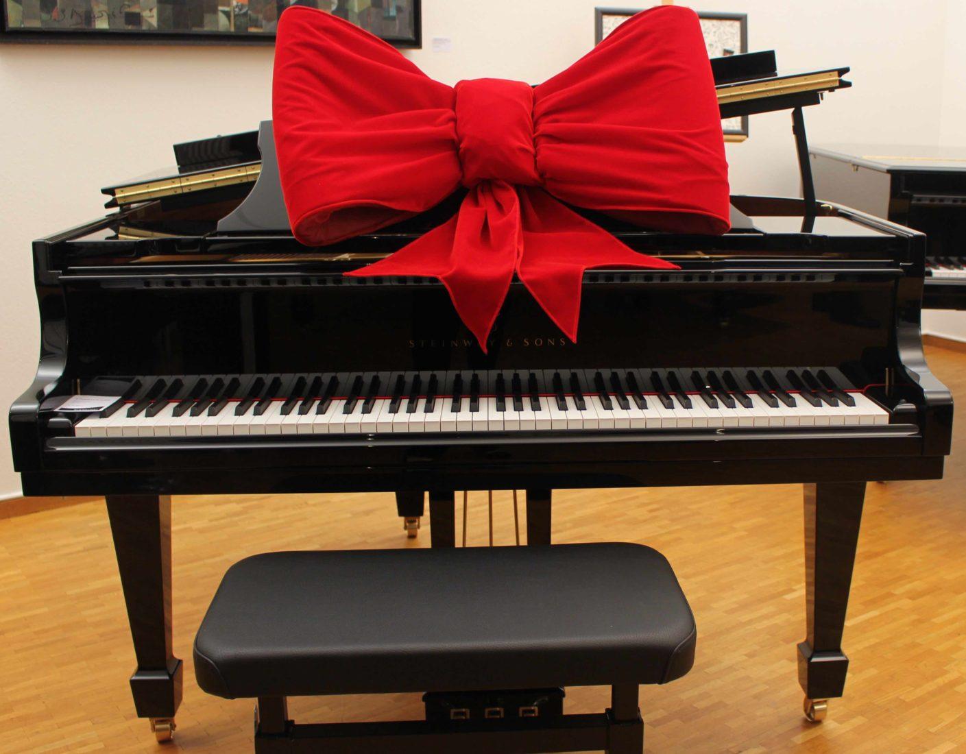 Piano anniversaire Steinway Hall Lausanne
