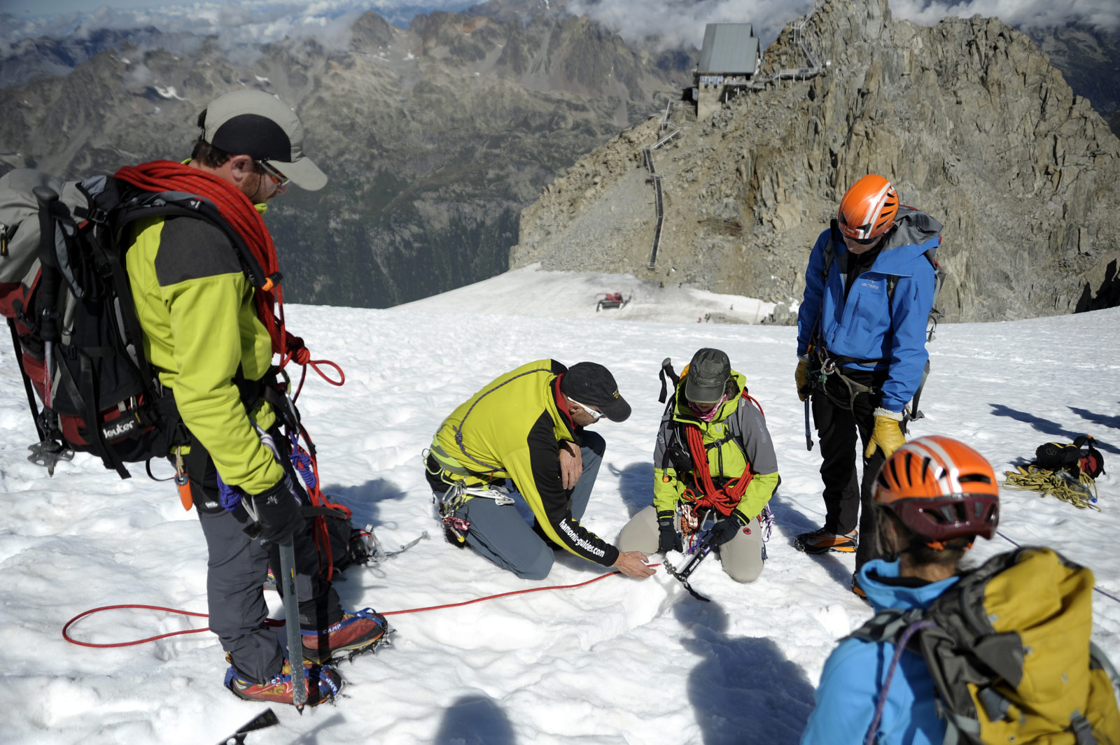 Alpinisme inscrit à l'UNESCO - alpinistes