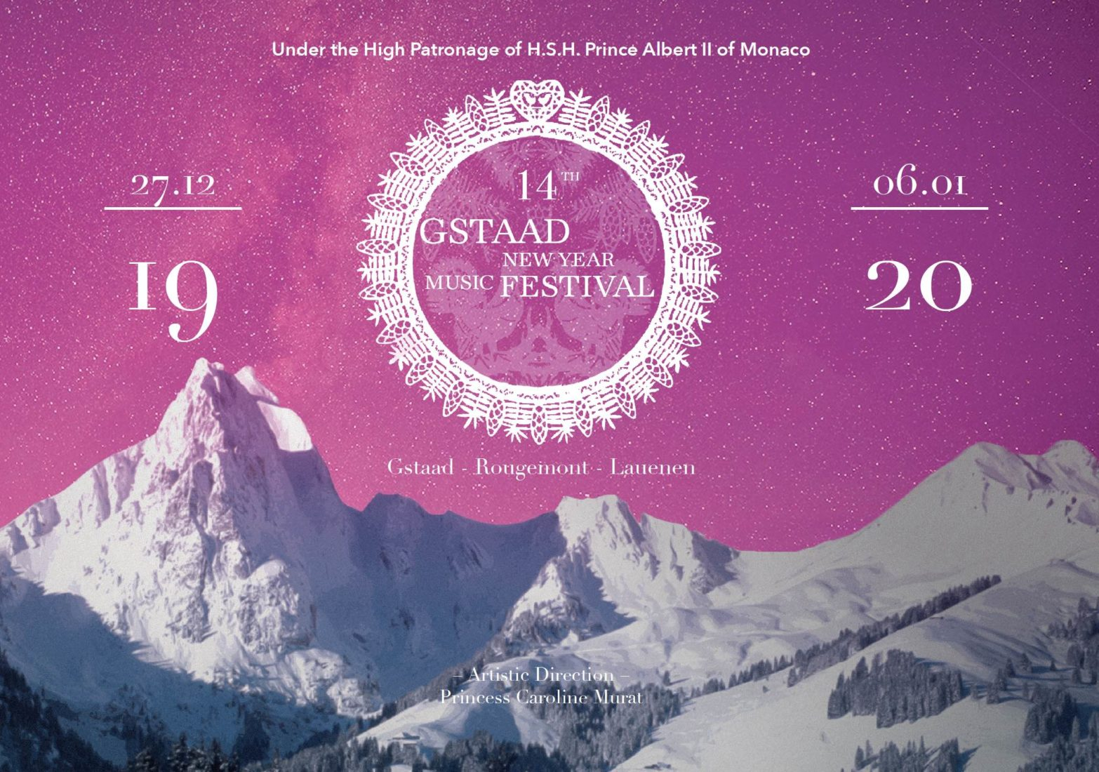 Gstaad New Year Music Festiva affiche