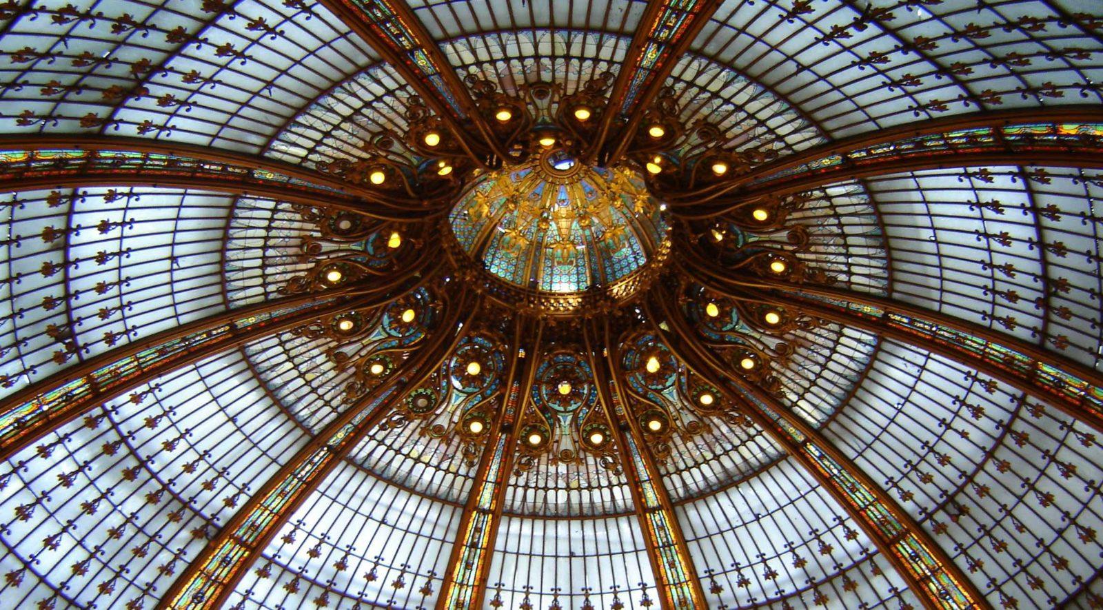 Galeries Lafayette Paris Haussmann la coupole