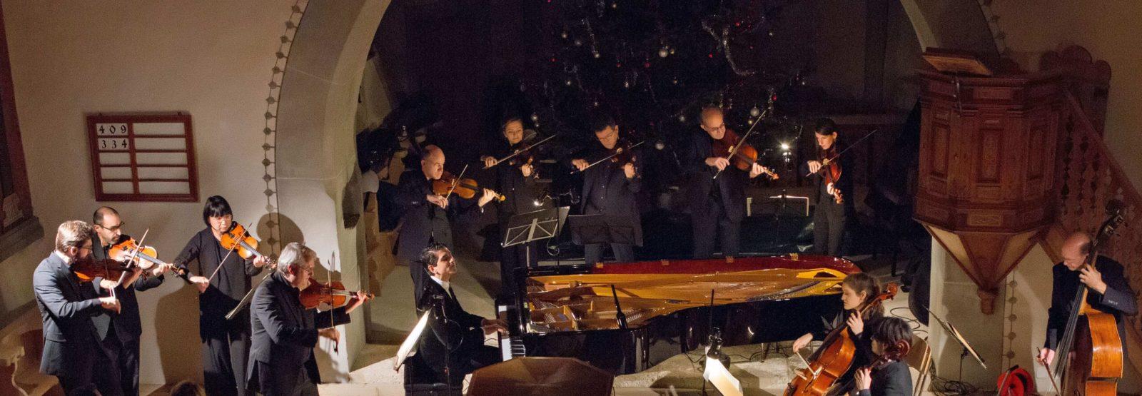 Gstaad New Year Music Festival Eglise de Lauenen