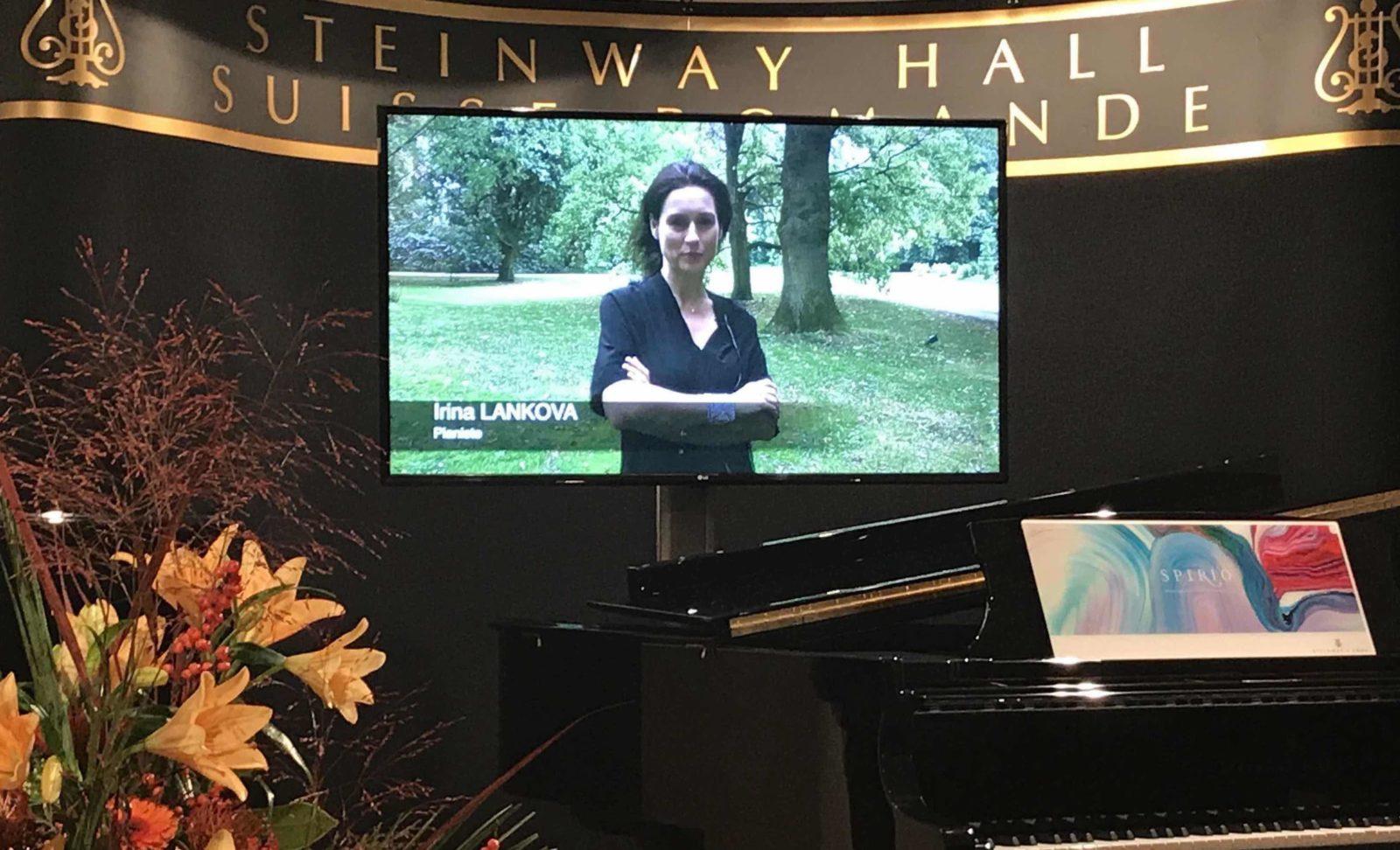 20ème anniversaire Steinway Hall Suisse Romande Irina Lankova