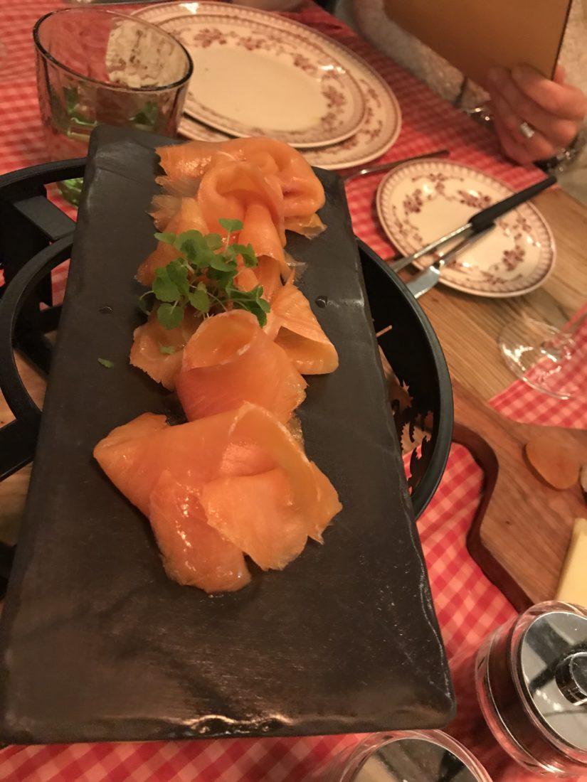 Fairmont Montreux Palace Jardin d'Hiver saumon
