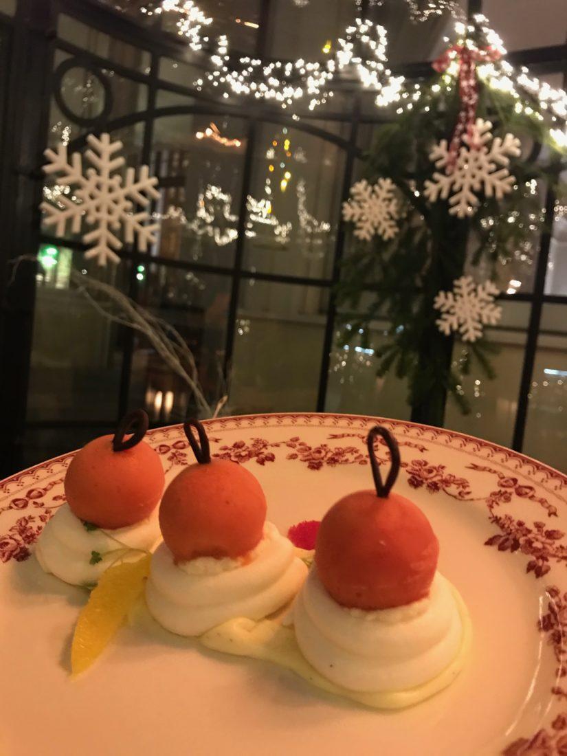 Fairmont Montreux Palace Jardin d'Hiver dessert