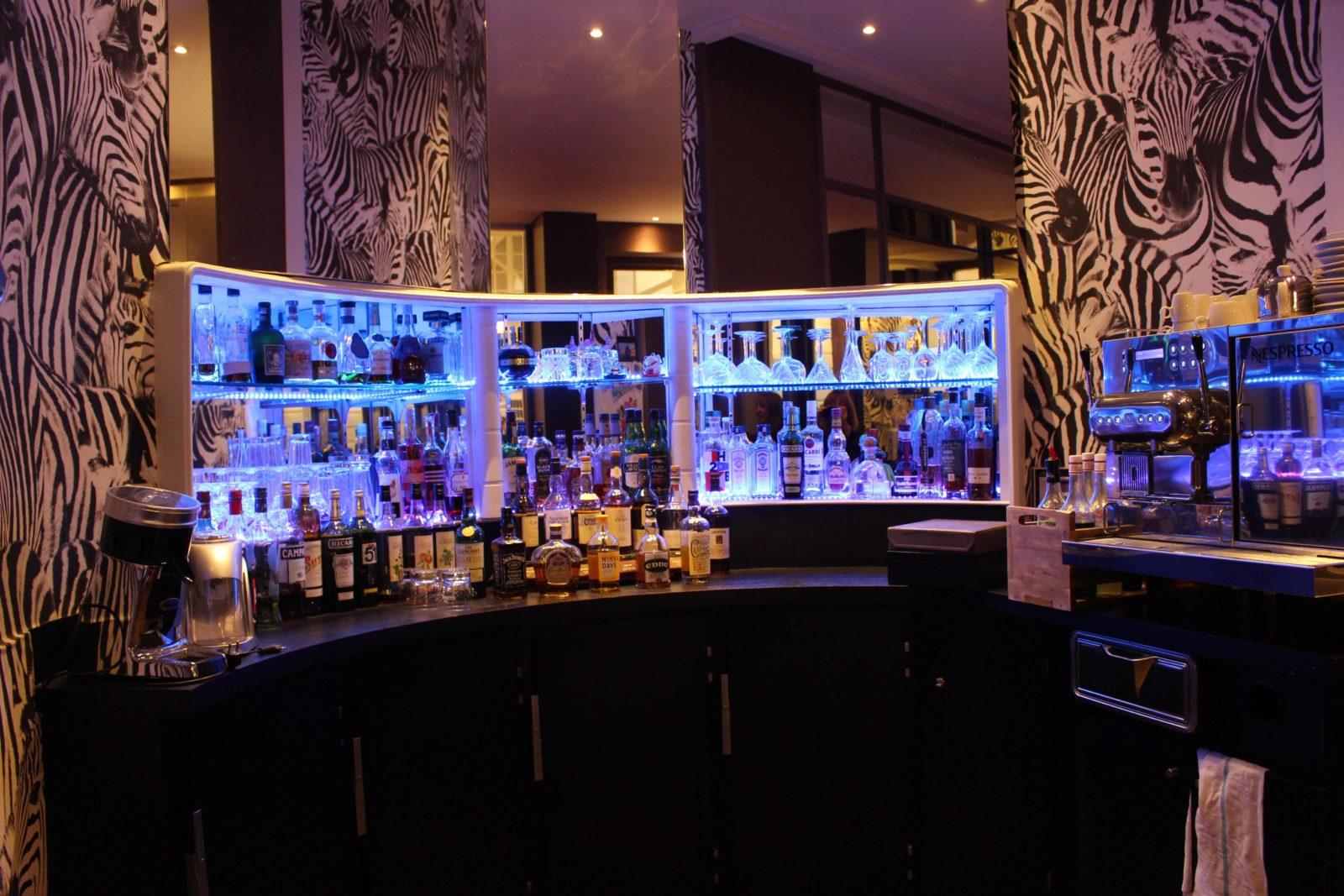 Nantes Hôtel de France vue sur le bar