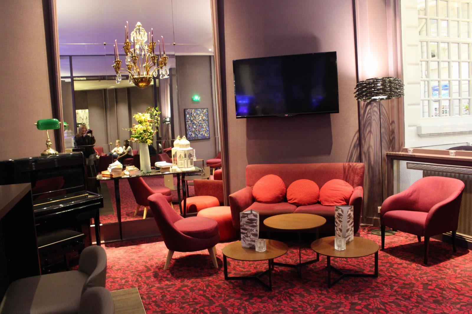 Nantes Hôtel de France salon