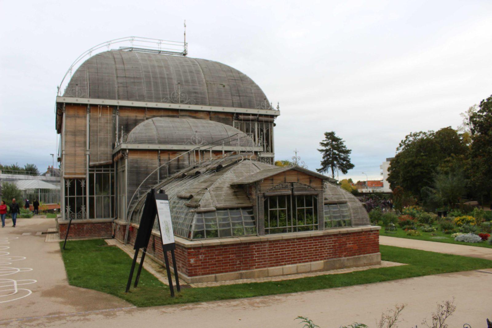 Nantes Jardin des plantes Serre