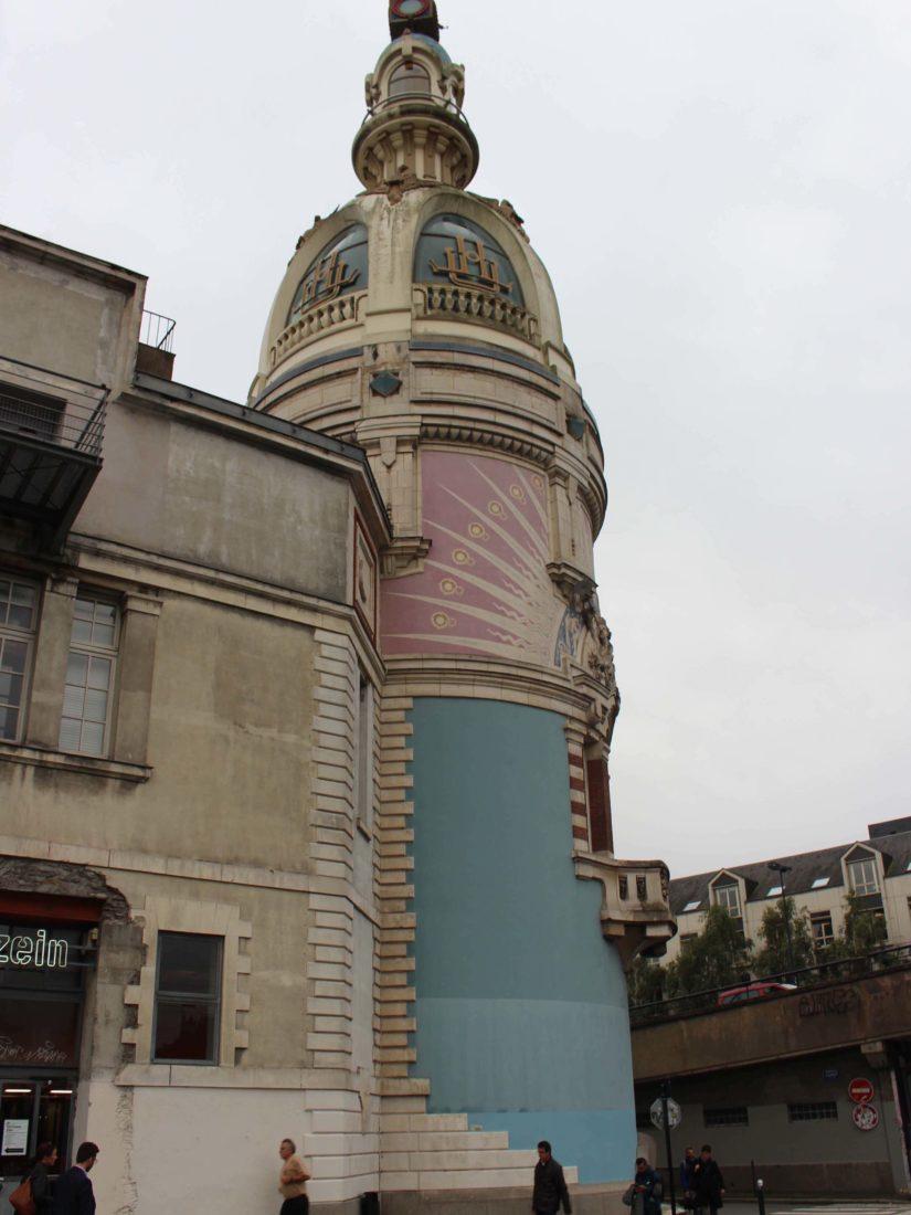 Nantes ~ la Tour LU Lieu Unique