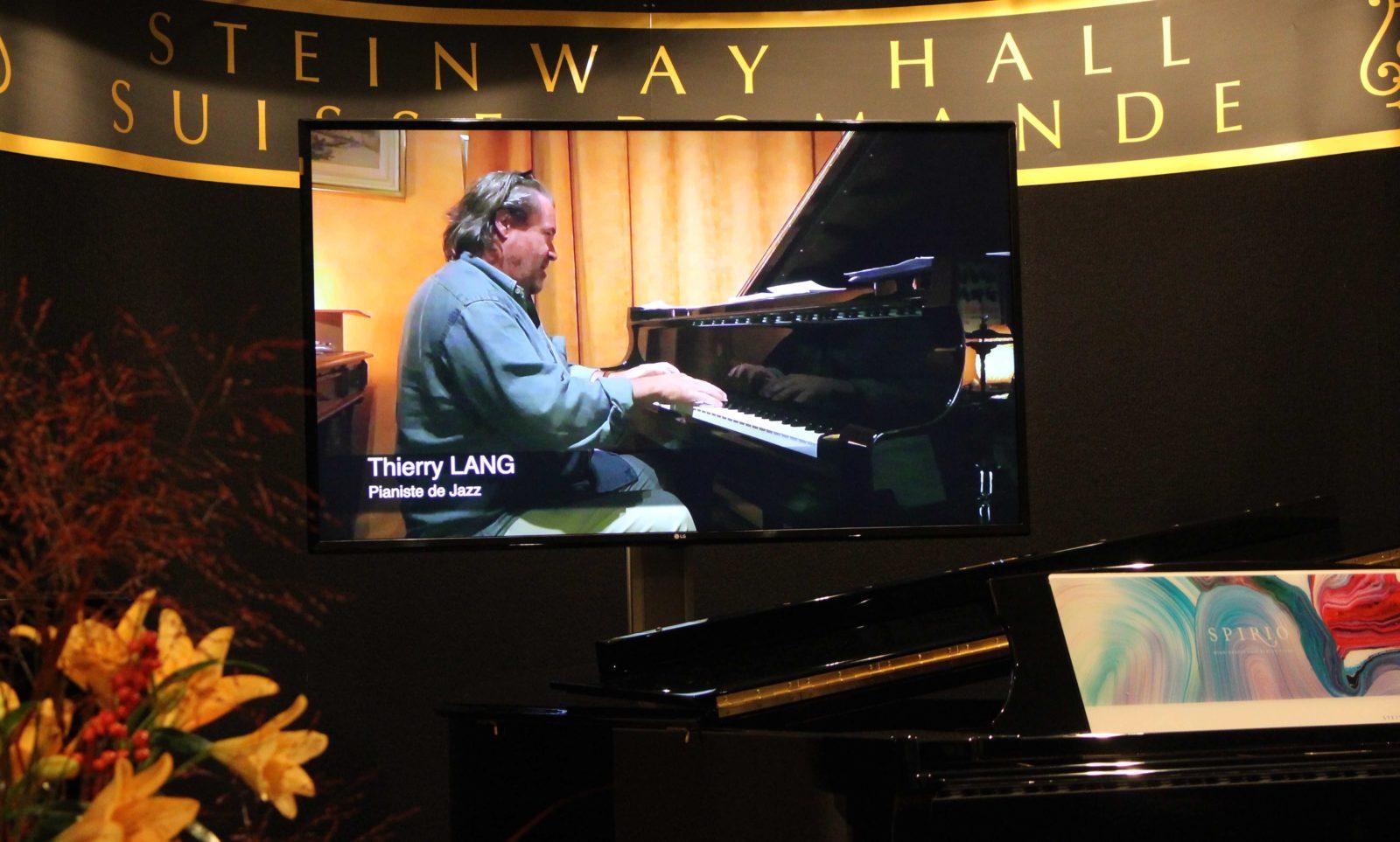 20ème anniversaire Steinway Hall Suisse Romande Thierry Lang