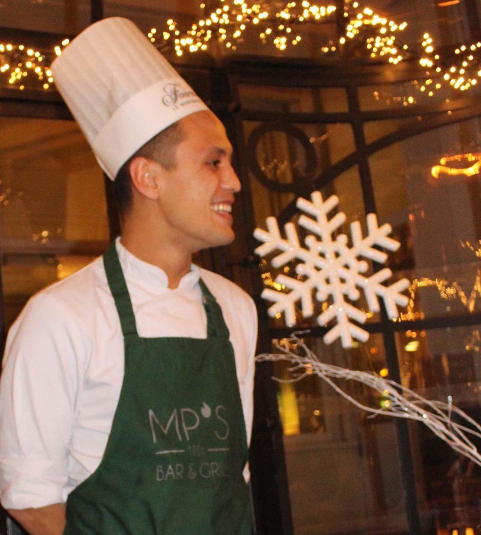 Fairmont Montreux Palace Jardin d'Hiver Lucas Chef