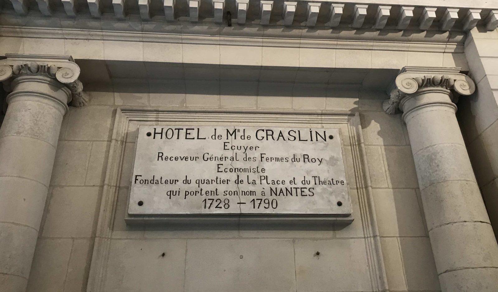 Nantes Hôtel de M.de Graslin- Oceania Hôtel de France