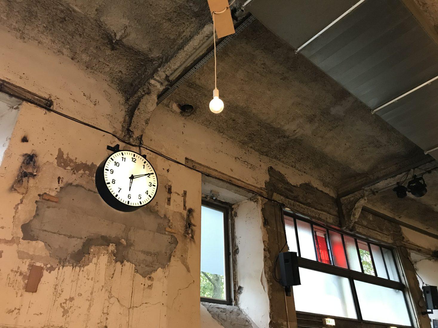 Nantes ~ Lieu Unique l'horloge