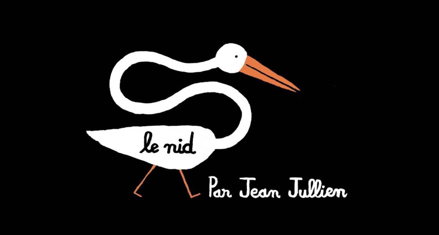 Nantes bar Le Nid Jean Jullien logo