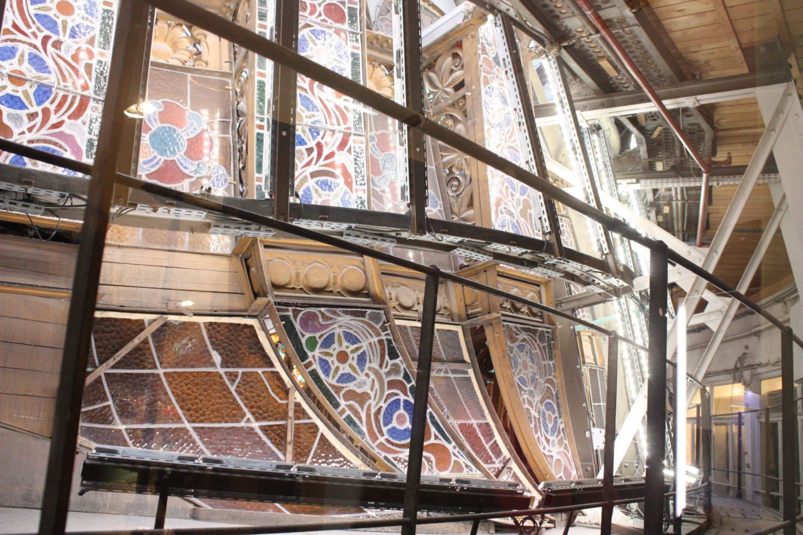 Galeries Lafayette Paris Haussmann -coulisse de la coupole