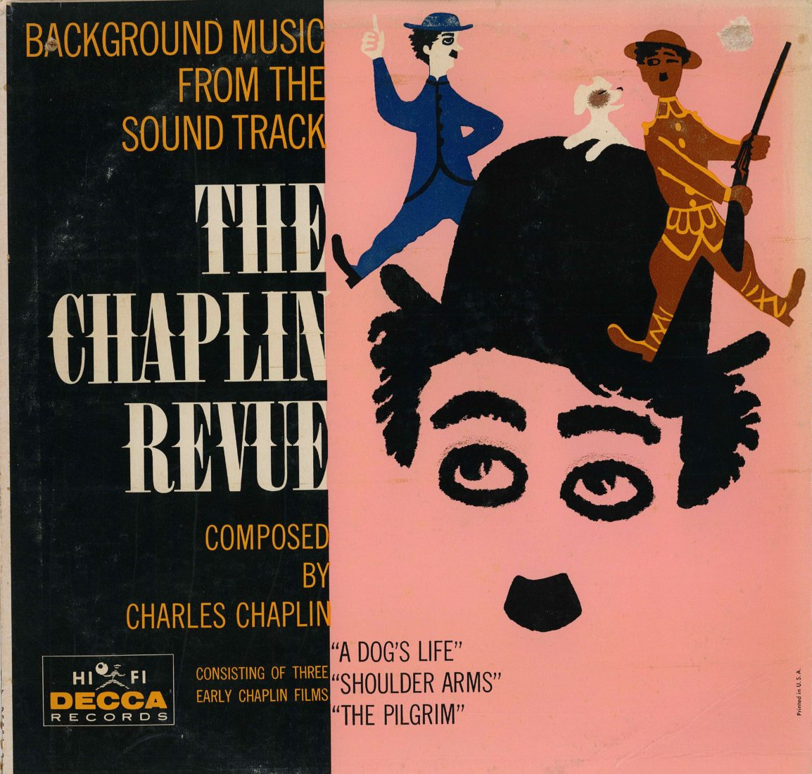 Chaplin's World2020 Music Times Pochette disque The Chaplin Revue