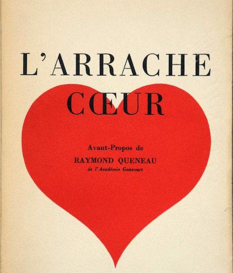 Boris Vian L'Arrache Coeur