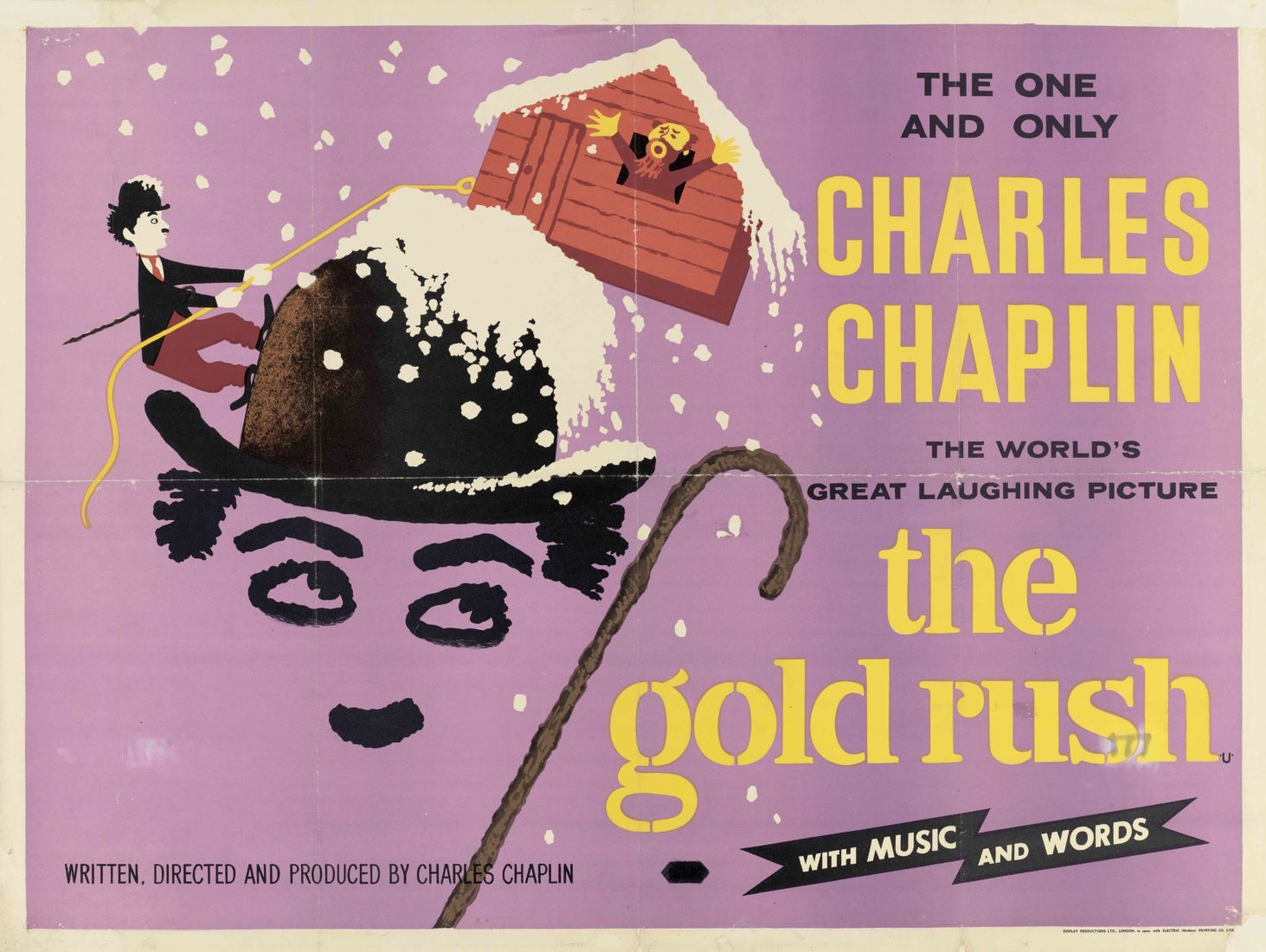 Chaplin's World2020 Music Affiche La Ruée vers l'or