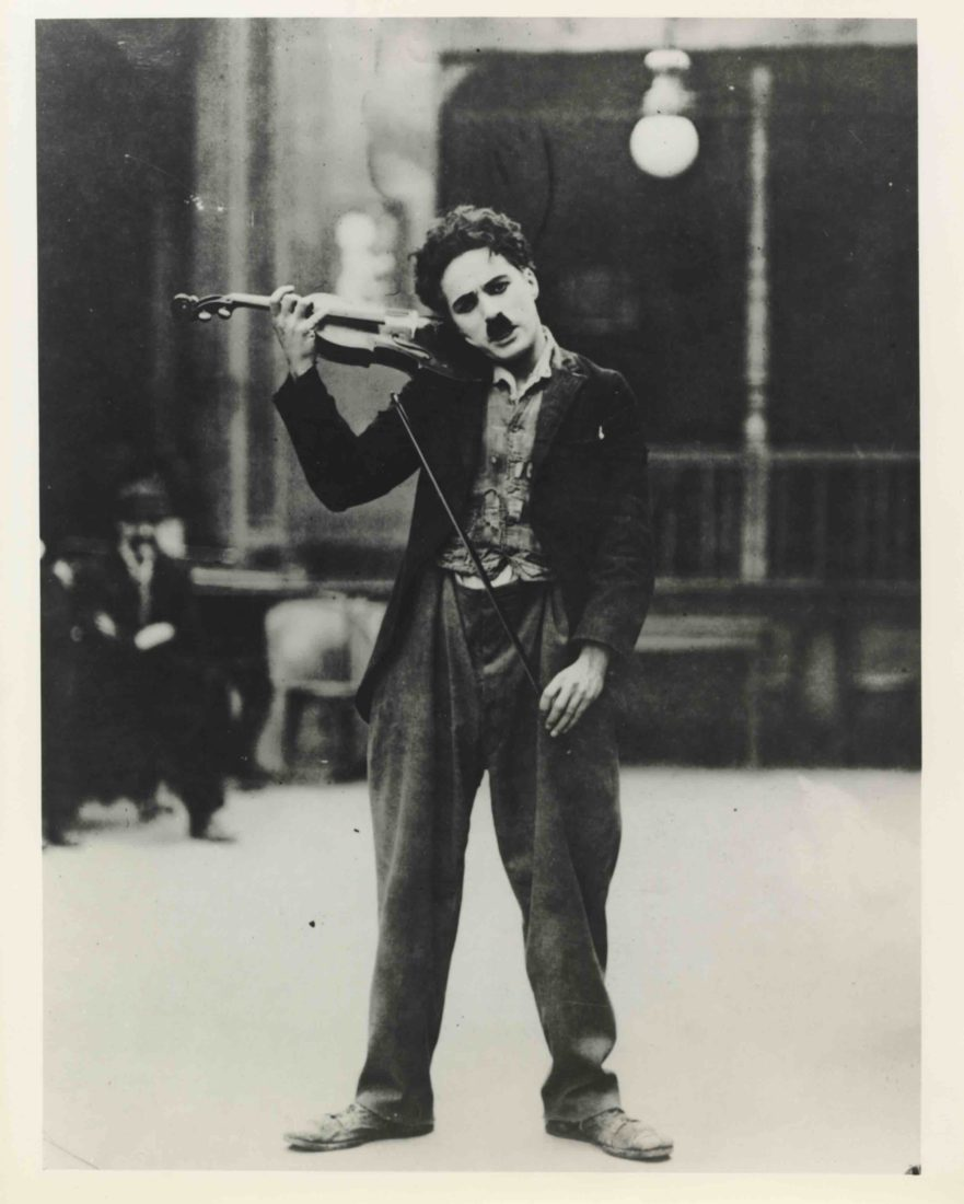 Chaplin's World2020 Music Chaplin au violon La ruée vers l'or
