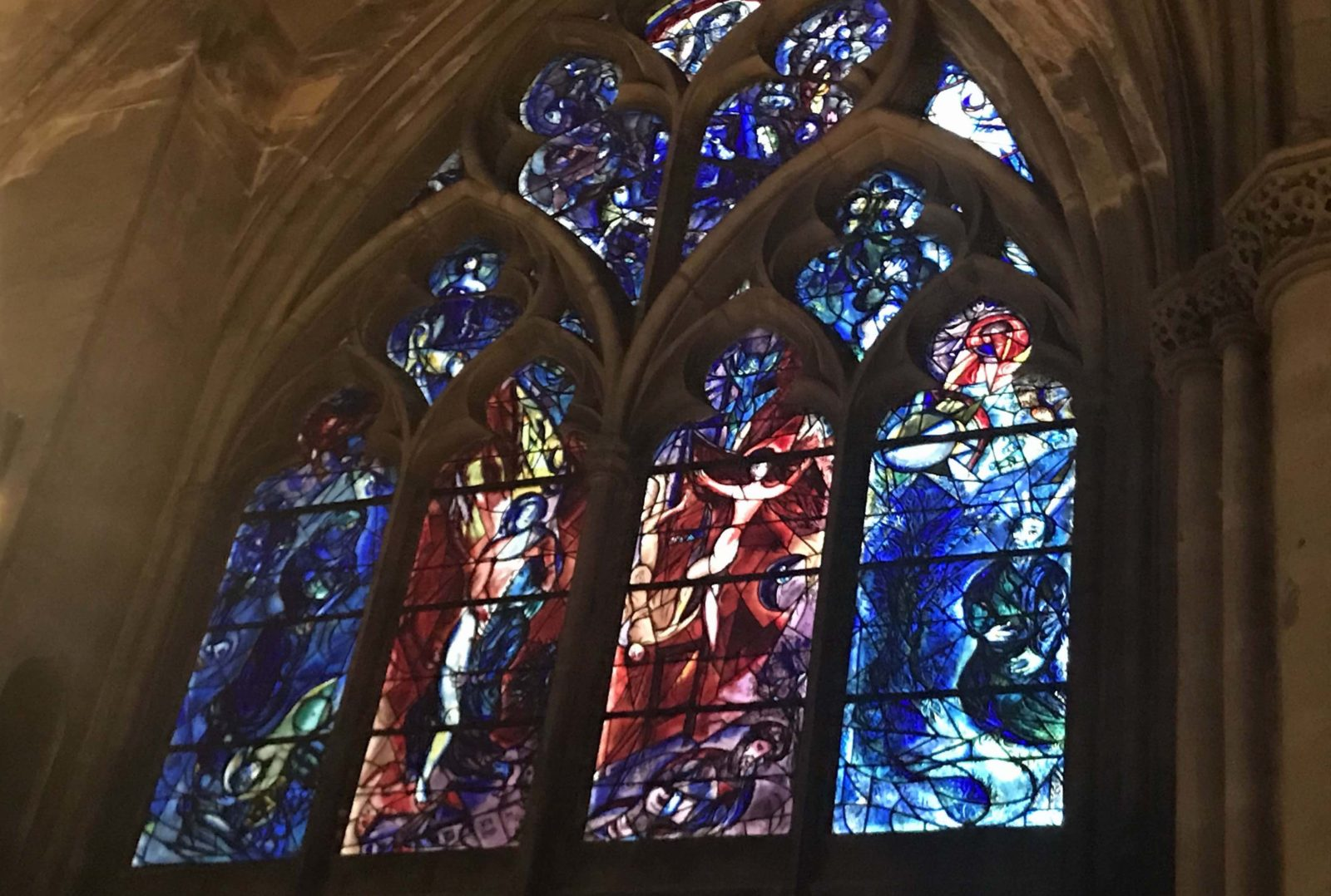 Metz cathédrale vitraux Chagall