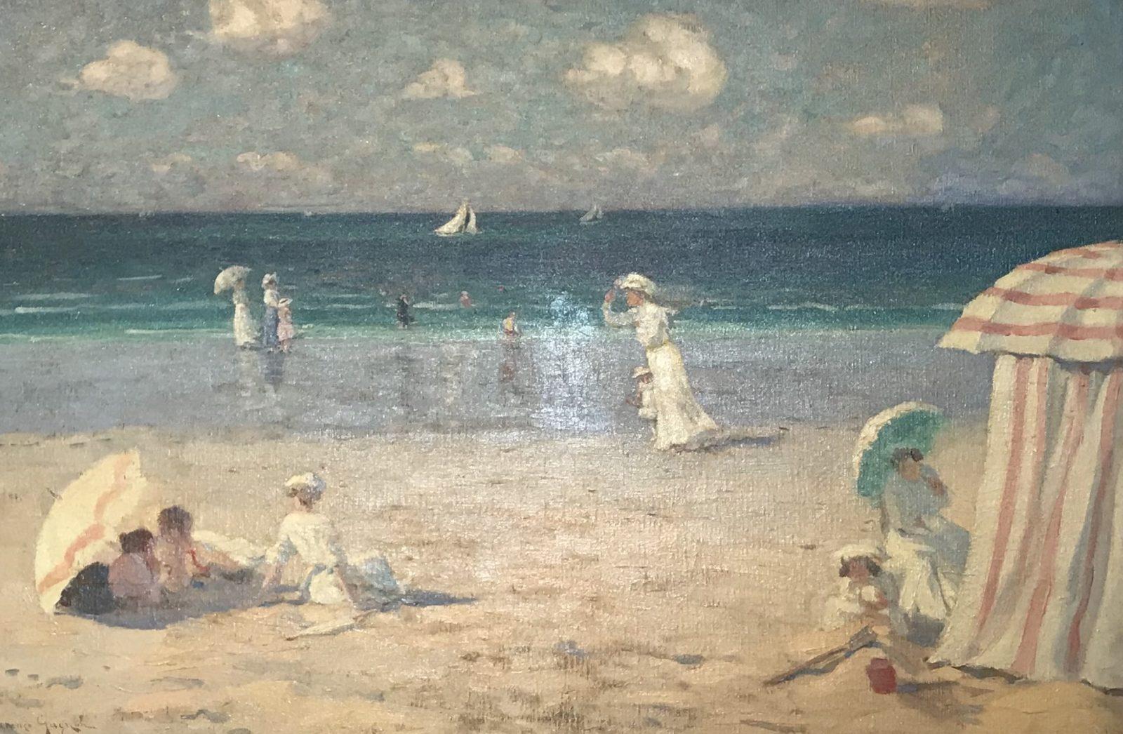 l'hermitage lausanne Clarence Gagnon – Brise d'été à Dinard