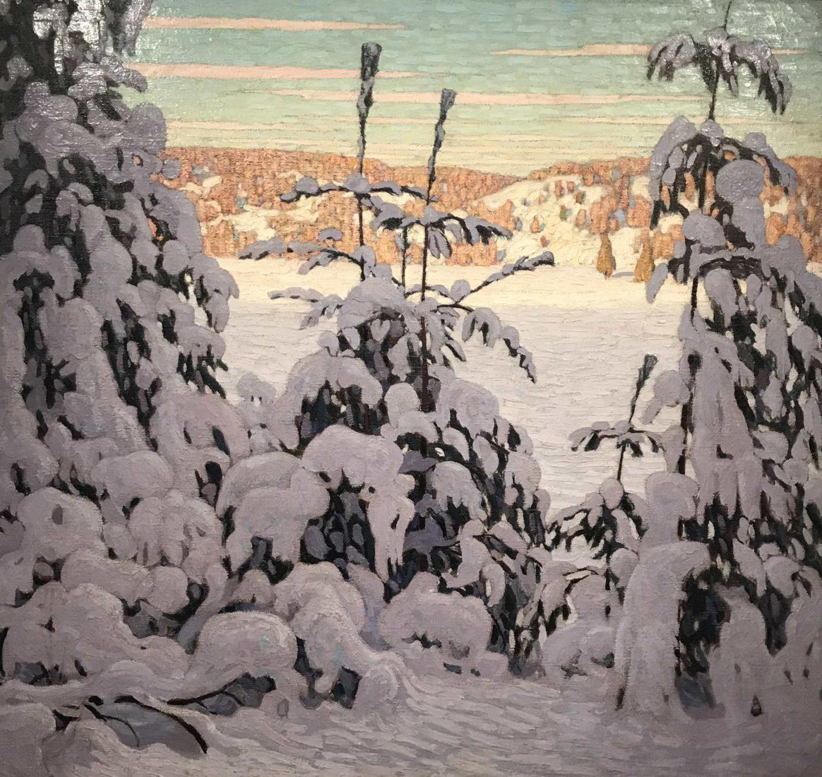 l'hermitage lausanne paysage d'hiver CANADA