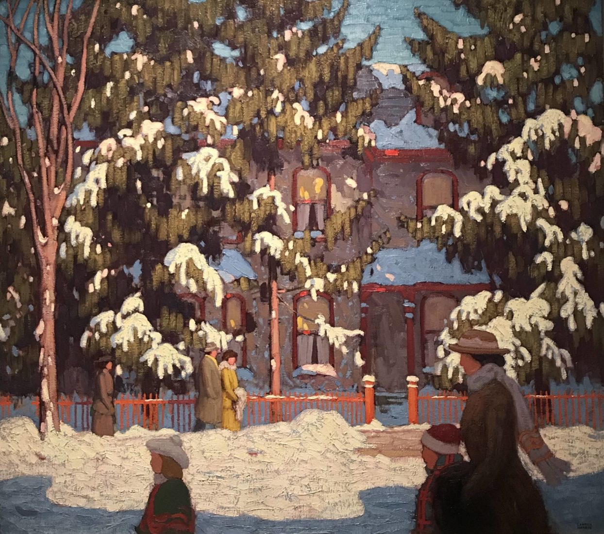 l'hermitage lausanne Lawren S. Harris- Après-midi hivernale