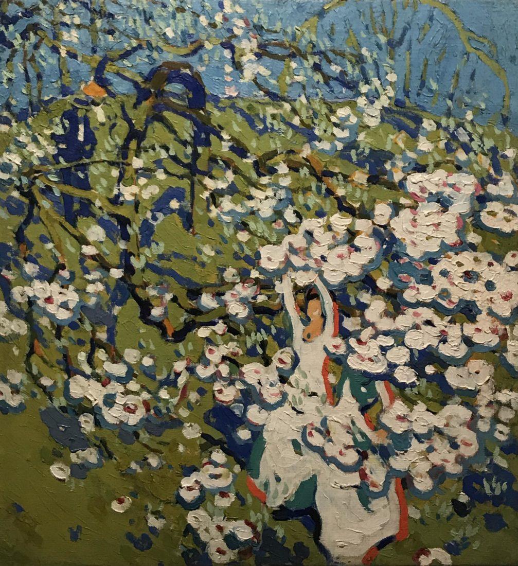 l'hermitage lausanne David B. Milne- La cueillette des fleurs