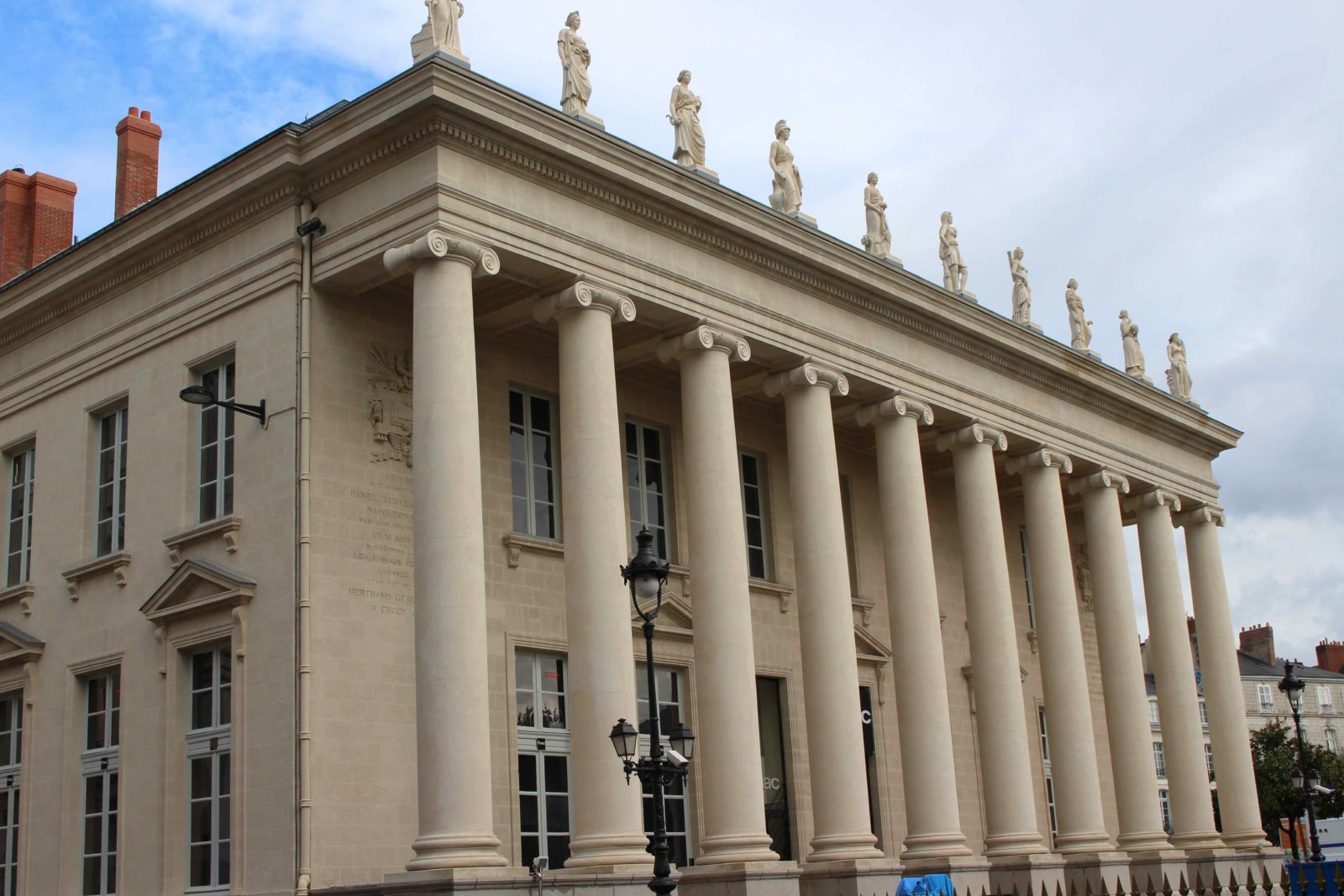 Nantes, façade de la fnac