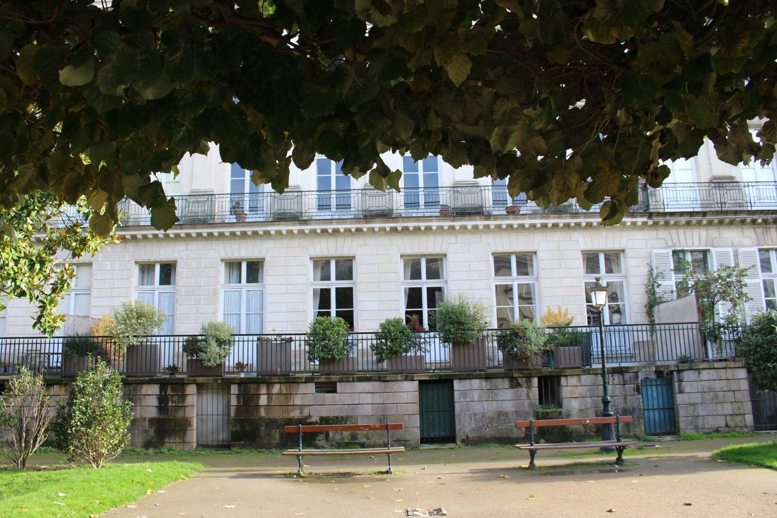 Nantes, cours Cambronne façades