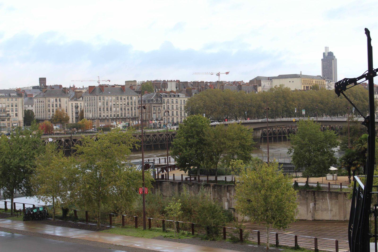 Nantes, vue sur la ville