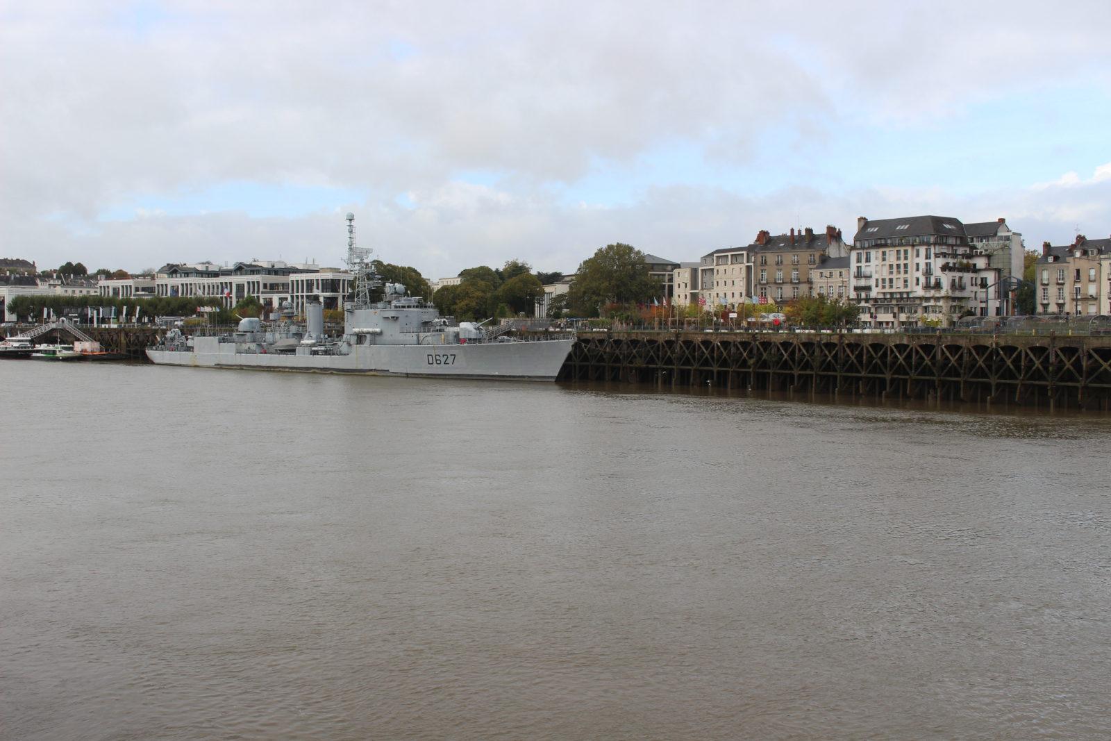 Nantes, vue sur le port