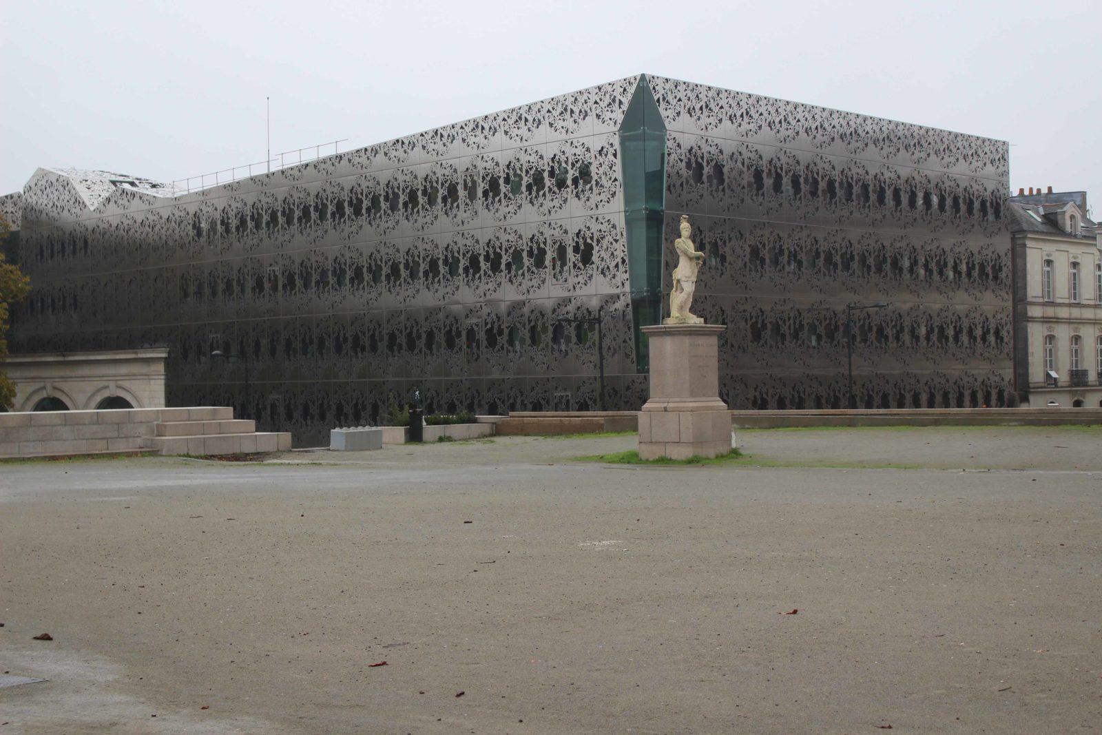 Nantes, façade moderne