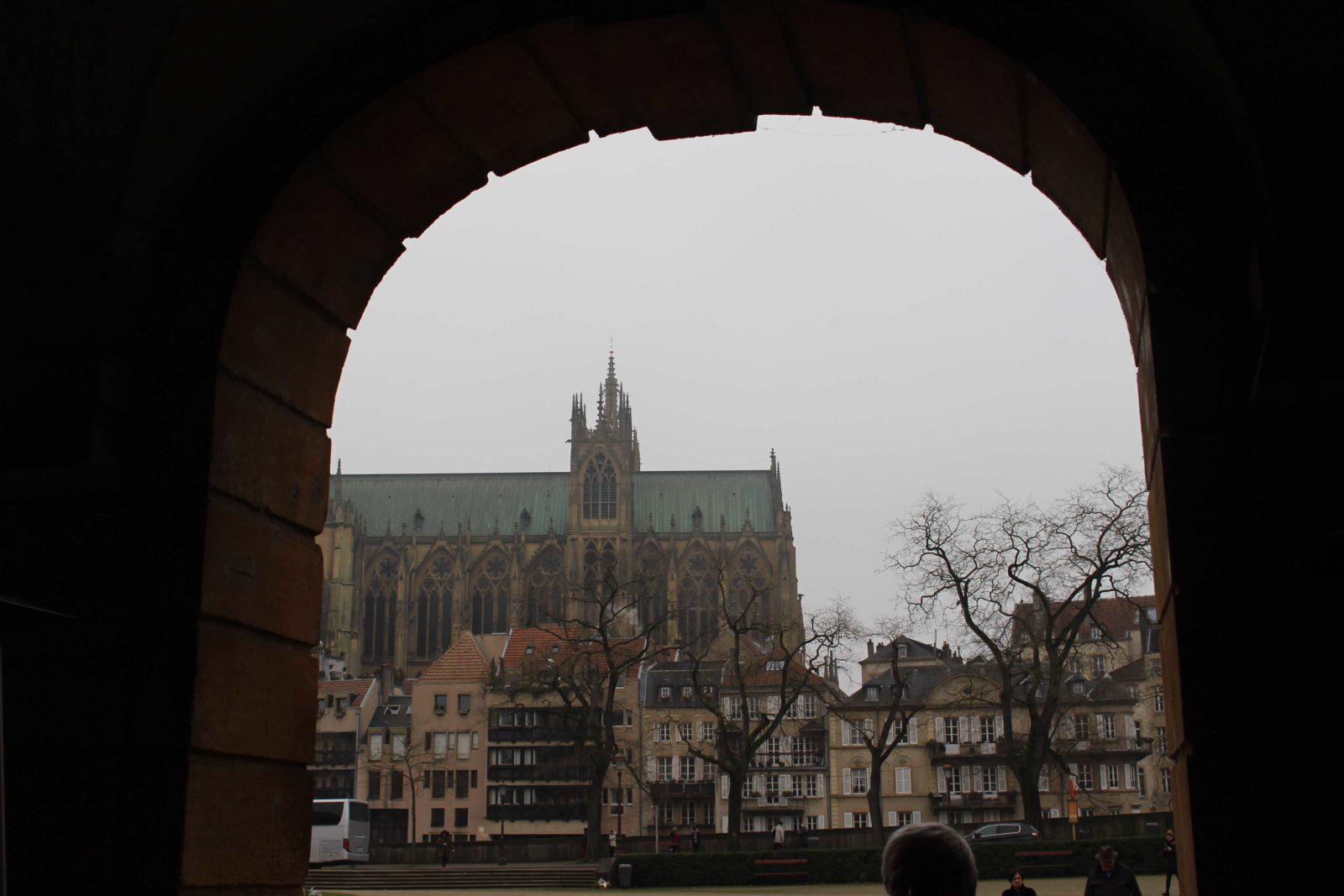 Metz cathédrale de jour