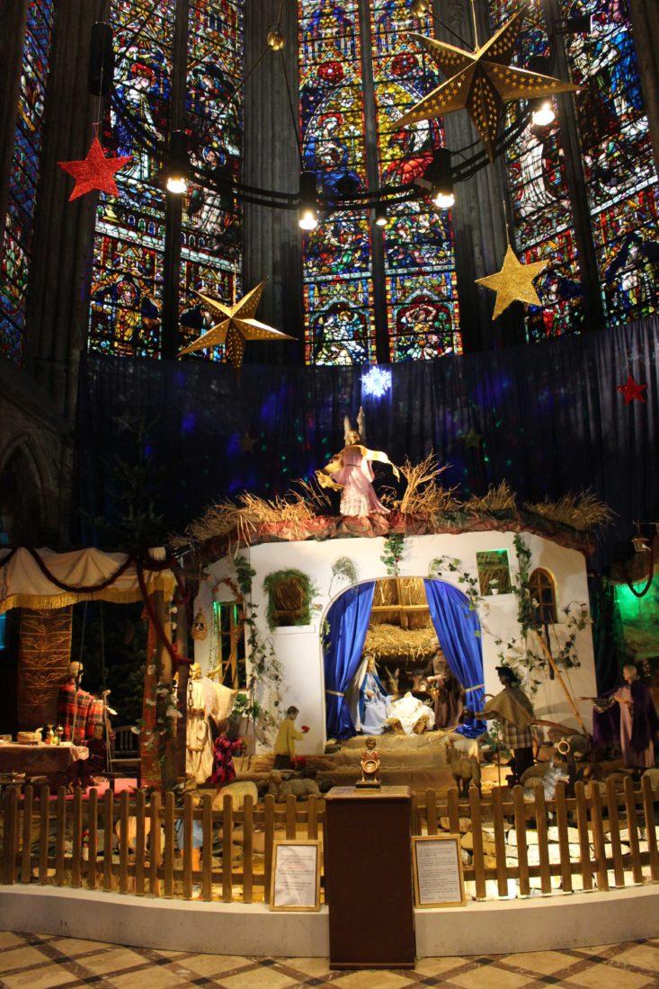 Metz cathédrale crèche