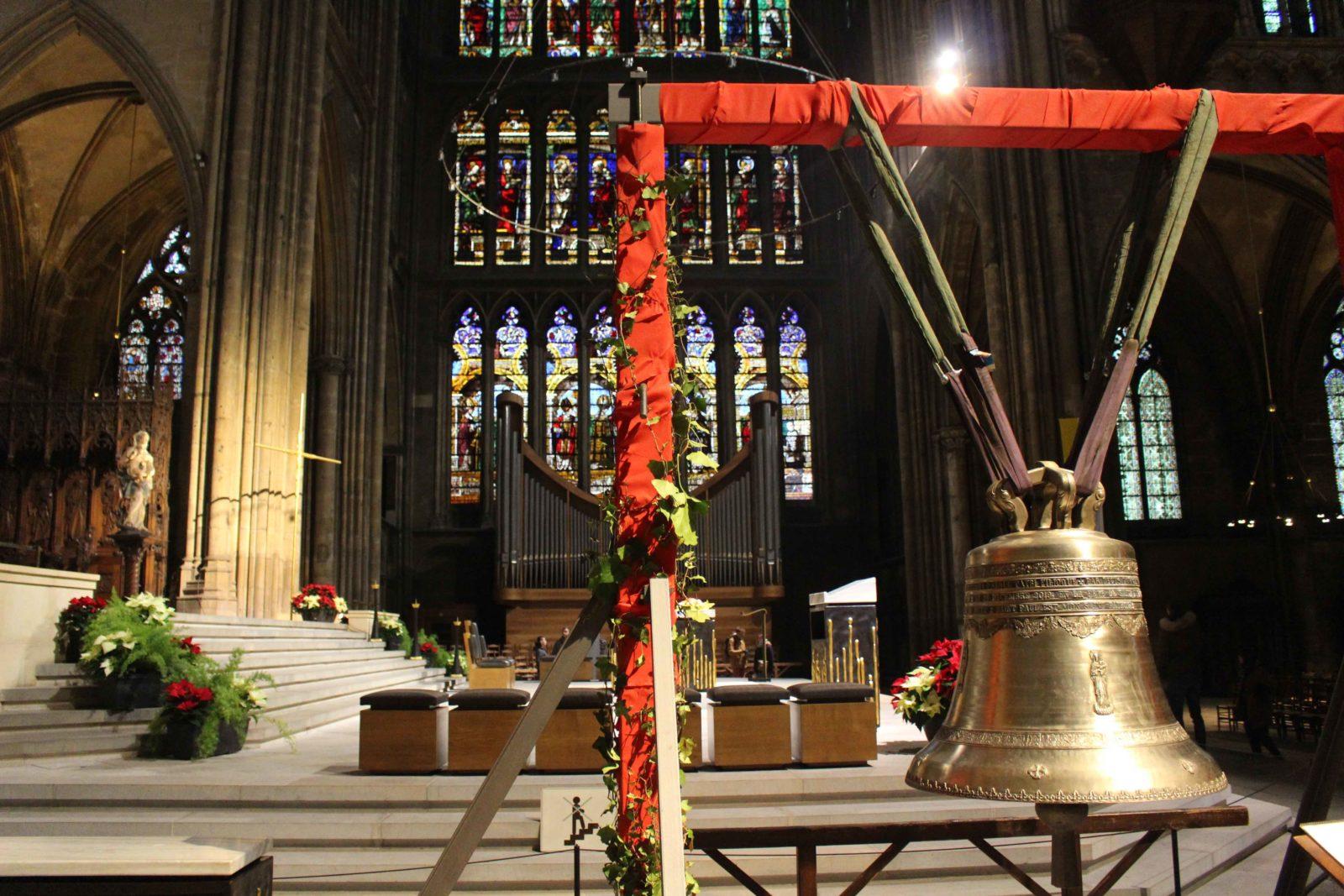 Metz cathédrale la cloche du Jubilé