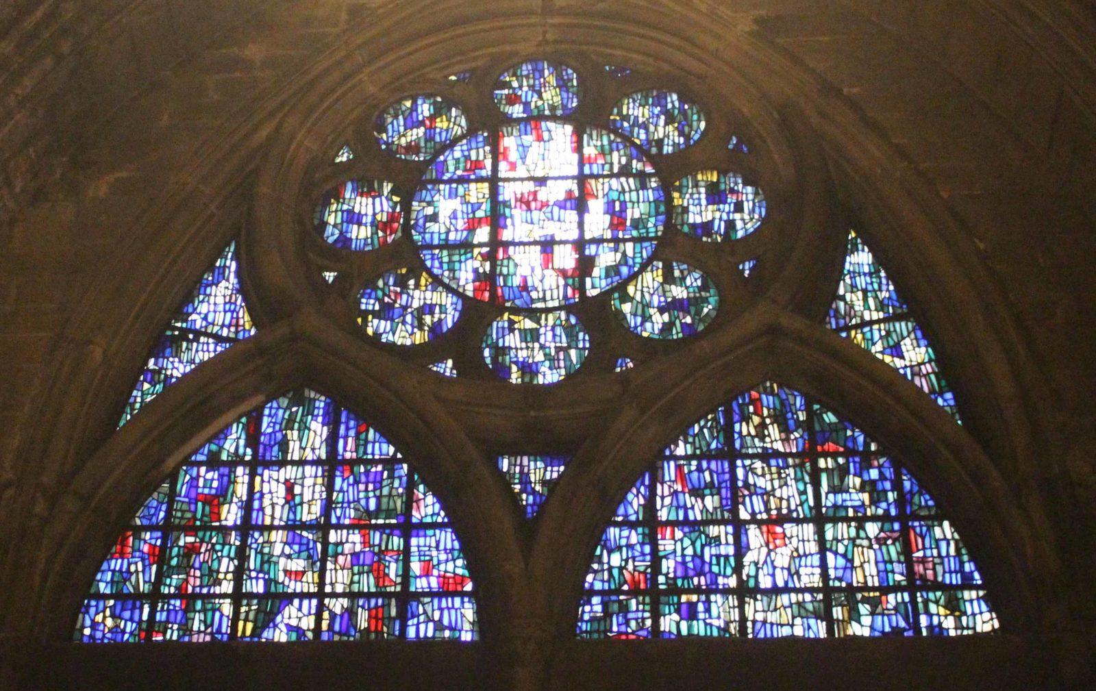 Metz cathédrale vitraux Bissière