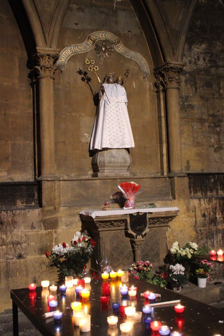 Metz cathédrale la Vierge noire