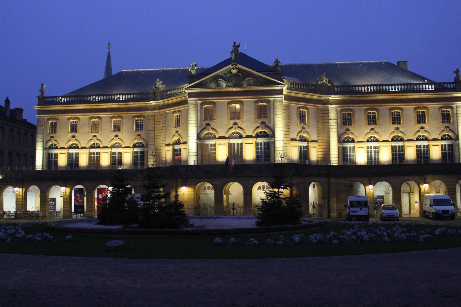 Metz Place de la Comédie - opéra