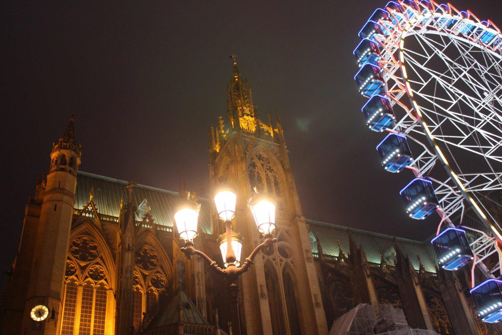 La cathédrale de Metz hiver 2019-20